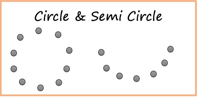 Circle & Semi Circle